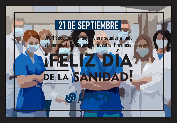 ¡FELIZ DIA DE LA SANIDAD!