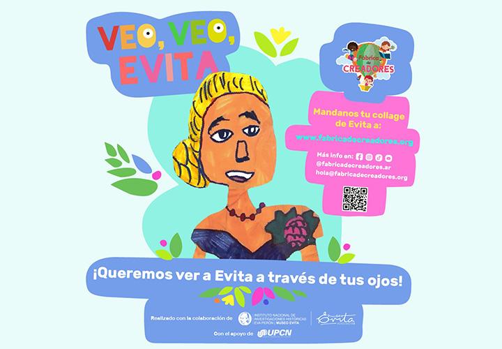 Veo, veo, Evita