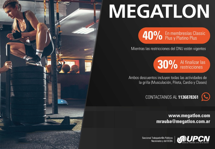 Convenio Megatlon