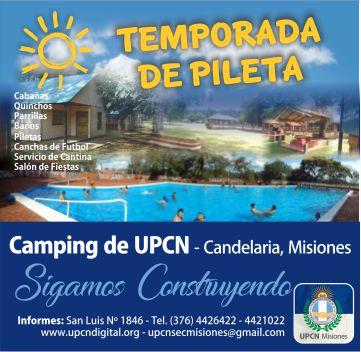 Camping UPCN en Candelaria